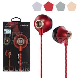 M15 Écouteurs Écouteurs Casques Écouteurs Casque Pour iPhone Samsung Téléphone In Ear filaire Avec Mic Volume Caméra Contrôle 3.5mm Avec RetailBox ? partir de fabricateur