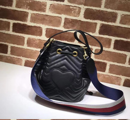 Wholesale Branded Handbags For Girls - Fashion Designer Handbags Luxury Bag Single Shoulder Bag Brand Slant Bags With A Heart-Shaped Bucket Handbag Leather For Women Girl Hand Bag