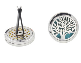 Canada HOT Aromatherapy Home Huile Essentielle Diffuseur Pour Voiture Clip Médaillon avec 5 PCS Lavable Feutre Pads livraison gratuite Offre