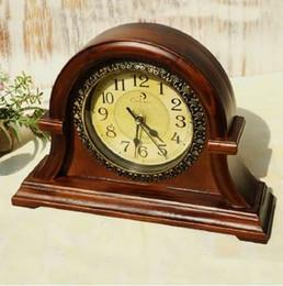 Настольные часы онлайн-Деревянные Настольные часы цифровые часы Reloj кронштейн часы Саат часы Маса Саати Relogio де Меса Despertador мебель немой домашнего декора