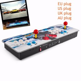 Argentina Freeshipping Professional Anti-static Multi-game 800 en 1 Family Box con Dual Joystick HD Home Game Machine Colorido Dragon Pattern Suministro
