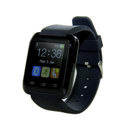 Nuevo reloj samsung online-Nueva U8 Smartwatch Bluetooth Relojes de pulsera Pantalla táctil para iPhone 7 Samsung S8 Teléfono Android Sleep Monitor Reloj inteligente con paquete al por menor