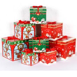Tienda hermosa online-Hermosa caja de regalo de Navidad para el centro comercial Casa Hotel Tienda Tienda Decoraciones navideñas Decoración de árboles de navidad