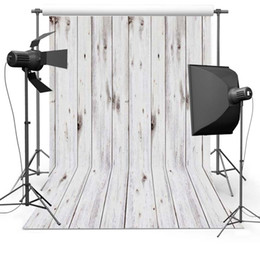 Wholesale Solid Color Vinyl Photography Backdrops - Thin vinyl cloth photography backdrop computer Printing background wood texture free shipping newborn backgrounds Floor-616