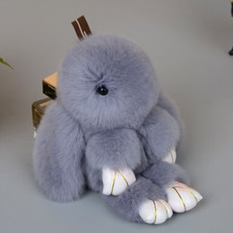 Wholesale Dead Dolls - 8 color! New cute stuffed animals doll dead rabbit plush toys small pendant gifts (free to Russia)