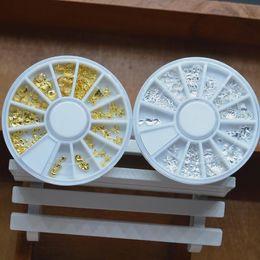 Ocean Style 3D Tips Oro Plata Metal Cristal Brillo Rhinestone Diseño DIY Rueda Tortuga Estrella de mar Sirena Shell Nail Art Herramientas desde fabricantes