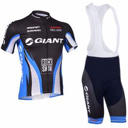 2018 Giant Men Cycling Jersey Estate Maniche corte Abbigliamento ciclismo MTB bici Ropa Maillot Ciclismo Bicicletta esterna Wear pantaloncini set da