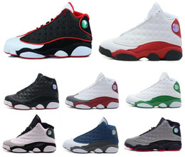 Wholesale cheap sports tops for women - Top Quality Wholesale Cheap NEW 13 13s mens basketball shoes sneakers women Sports trainers running shoes for men designer Size 5.5-13