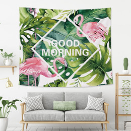 Wholesale chinese bedspreads - Hot Pattern Hanging Wall Tapestry Bohemian Flamingo Bedspread Home Decor Home Decor mantas mandalas Hanging Wall Tapestry