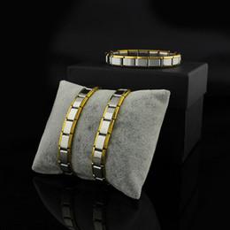armbänder Rabatt Armbänder für Frauen Männer Armreifen Armbänder 2018 Neue Mode ST-Silber Edelstahl Armband Schmuck Geschenk für Gril Armreif