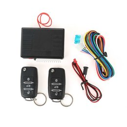 Wholesale Car Alarm Door Lock - China system alarm Suppliers Universal Auto Remote Central Kit Door Lock Locking Vehicle Keyless Entry System With Remote Controllers Car