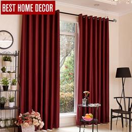 tende moderne tendaggi Sconti Tende oscuranti moderne pieghettate BHD per tende per trattamento finestre Tende oscuranti per tende finite per soggiorno La camera da letto
