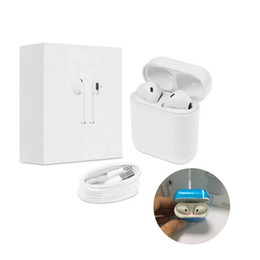 Wholesale Lg Bluetooth Earpiece - Afans Ifans TWS Mini Wireless Bluetooth Earphones With Charging Box Sport Twins Headset Earbuds Earpiece In-ear Handsfree Mic PK i7 i7s i8x