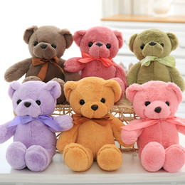 Wholesale Ted Stuffed Animal Bear - (6 color) 35cm Teddy Bear stuffed & plush animals Toys Soft Stuffed Animals Ted Bear dolls & toys for kids gifts