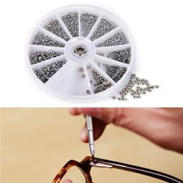 occhiali da dado Sconti 12 tipi di acciaio inossidabile piccole viti Nuts Assortment Kit Repair Part Tools For Watch Occhiali da vista Clock 1 Borsa (scatola) (600 pezzi)