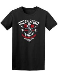 Морские собаки онлайн-Ocean Spirit Sea Dog Adventures мужская футболка-Изображение от Shutterstock 100 % хлопок футболка для мужчин хлопчатобумажные рубашки дешевые Оптовая