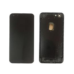 Металлический заменить аккумулятор корпус Дверь задняя крышка чехол для iPhone 6 плюс бесплатная службой DHL.доставить товар в течение 24 часов от Поставщики чехол для иврита телефона