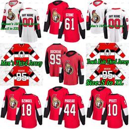 Ottawa senador jersey online-Ottawa Senators 2018 Tercer 3er Matt Duchene Ryan Dzingel Tom Pyatt Jean-Gabriel Pageau Mark Stone Chris Wideman Marian Gaborik Hockey Jersey