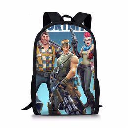 6d5e0baea732 Bag school game Games Pattern School Backpack for Girls drop shipping Boys  Orthopedic Schoolbag Backpacks Children Book Bag