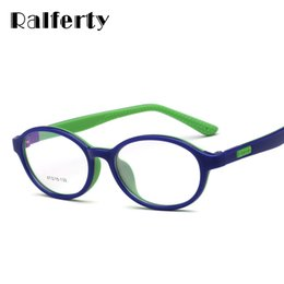 9cc317c6a5 Ralferty Child Ultra-Light Glasses Frame Flexible TR90 Silicone Kids Eyewear  Frames Gafas graduadas Boy Girl Eyeglass O805