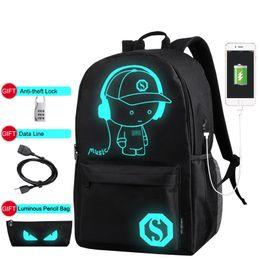 New Geometric Rubik Cube Nightlight Pvc Travel Shoulder Pack Handsome Appearance Luggage & Bags Backpacks