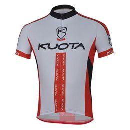 kuota zyklus jersey Rabatt 2018 KUOTA Team Radfahren Jersey Radsportbekleidung Männer Bike Wear Sommer MTB Fahrrad Atmungsaktive Sportbekleidung F213