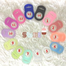 Wholesale Clip Nipple Rings - Color Random Pacifier Clips MAM Nipple Ring BPA PVC Free Pacifiers Holder for Babies Nipples Attache Sucette Baby 5pc NZ025-2