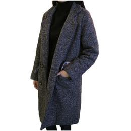 Cappotto di lana delle donne 2018 nuova giacca invernale signore bozzolo tipo cappotto di lana ispessimento donne cappotto invernale donne caldo cappotto di lana da cappotto di giacca fornitori