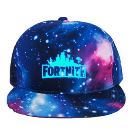 Fortnite Luminous Caps Teenager baseball cap 2018 summer sunhat hip hop hat DHL free shipping 2 colors C4665