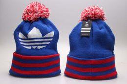 Wholesale hot beanie hats - Hot!Winter Beanie Hats Knitted Wool Caps casual Beanies wholesale Skull Hats Men Women Winter sport Caps