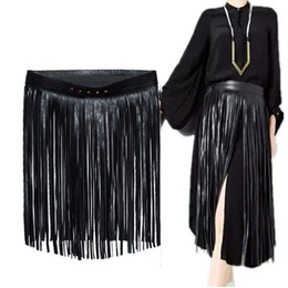 10 PCS / LOT SINGYOU Nouvelle Mode Hippie Boho Gland En Cuir Taille Sangle Dames Élégant Accessoires Femmes Ceinture ? partir de fabricateur