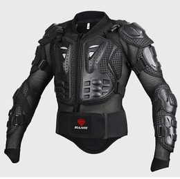 Wholesale Motors Jacket - Motorcycle Jacket Armor Moto Waist Bag Motor Bike Mask Gift Motorbike Full Body Protector Motocross Chest Spine Protective Gear