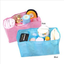 Wholesale Baby Diaper Bottle Organizer - HOT Baby Diaper Nappy Water Bottle Changing Divider Storage Organizer Bag Liner