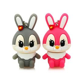 2019 desenhos animados usb 4gb Little Rabbit Usb Flash Drive 4 GB 8 GB 16 GB 32 gb 64 gb U Disco Dos Desenhos Animados 107 novo preço por atacado desconto desenhos animados usb 4gb