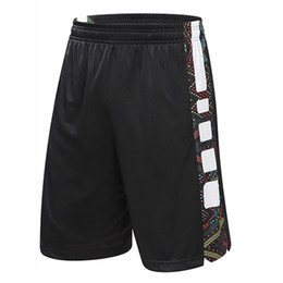Wholesale Usa Sports Clothing - New USA Basketball Shorts Outdoor Sport Trunks Loose Casual Basketball Clothing For Men Plus Size Running Zipper Pocket Trunks Big Size 4XL