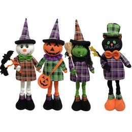 regali marketing Sconti Bambole Decorazione di Halloween Giocattoli Regalo Home Hotel Mercato Creativo Bambola a scomparsa Zucca Strega Bambole fantasma Ornamenti Articoli per feste
