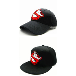 Wholesale Ghost Kid - LDSLYJR 2018 Fat ghost embroidery cotton Baseball Cap hip-hop cap Adjustable Snapback Hats for kids and adult size 55