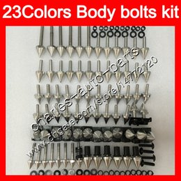 1988 cbr Coupons - Fairing bolts full screw kit For HONDA CBR250RR 88 89 MC19 CBR250 RR CBR 250RR CBR 250 RR 1988 1989 Nuts screws Gas Tank Pad Tank stickers