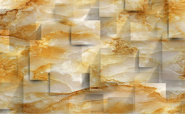 print squared paper Coupons - Custom Photo Wallpaper KTV Original marble texture square solid space warm tone background wall TV Backdrop Bedroom Photo Wall Paper 3D