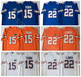 gator football jerseys Coupons - NCAA Florida Gators College 15 Tim Tebow Jersey Men 22 Emmitt Smith 6 Jeff Driskel Football Jerseys University Embroidery Blue Orange White