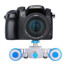 YELANGU fotokamera smart SLR track auto kamera eisenbahn tragbare falten elektroauto Kamera stabilisator von Fabrikanten
