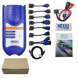 Wholesale nexiq scanner - Hot Sale NEXIQ Auto Heavy Duty Truck Diesel Scanner tool NEXIQ USB Link on sale nexiq 125032 usb link NEXIQ-USB LINK similar DPA5