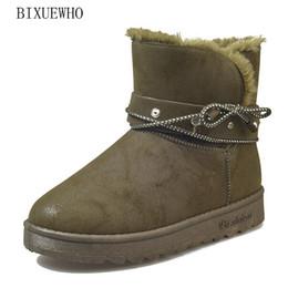 329a16818 Tamaño 35-40 2018 Botas nuevas para mujer de tobillo Estilo occidental del ejército  Verde del ejército Zapatos Mujer Tacones planos Dama de metal con encaje ...