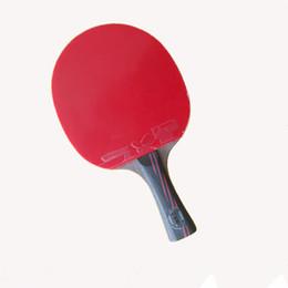profesional WRB fibra de carbono mesa de tenis raqueta doble cara espinillas-en el tenis de mesa de goma largo o corto bate de manipulación desde fabricantes