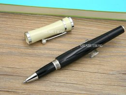 Wholesale monaco red - new metal white and Black Silvery parts Princess of Monaco Pearl M Roller ball Pen