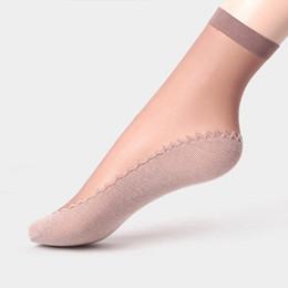 5d1484587 1 Pair Velvet Silk Womens Summer Socks Cotton Bottom Soft Non Slip Sole  Massage Wicking Slip-resistant Spring Autumn Sock