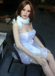 Wholesale Silicone Dolls For Men Cheap - 165cm Real silicone sex dolls sex toys for men sexy rubber doll pussy vagina ass cheap stuff the sexual dolls japanese full body