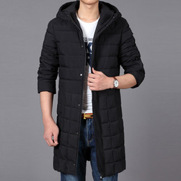 Wholesale Youth Pads - new Male with Hooded super Large Padded Youth Winter Coat Jacket Casual Long Thick high quality super large plus size XL-5xl 6XL