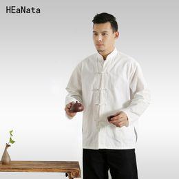 Hommes cheongsam en Ligne-Tangzhuang Chine Vent Hommes Chinois Style Rétro Hommes Cheongsam Loisirs Veste Vêtements Chine Oriental Hommes Vêtements 4XL