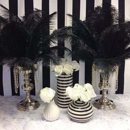 diy accessories supplies Australia - Wholesale 50pcs  Lot Large Black Ostrich Feather Decorations Plumes for Crafts 30 -35 Cm  12 To14 ''For Craft  Diy Accessories